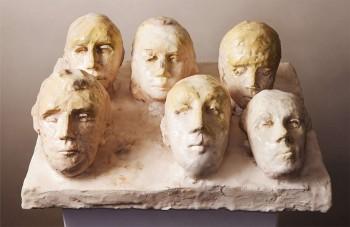 Untitled 2013 argile cuite plâtre 40x30x12cm